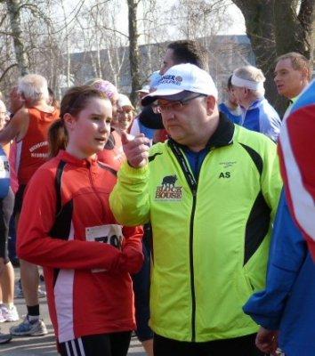Foto zur Meldung: Frühlingslauf in Neubrandenburg - Station im VR-Laufcup