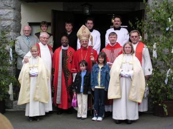 Foto zur Meldung: 50 Jahre Weihe Katholische Kirche in Röslau