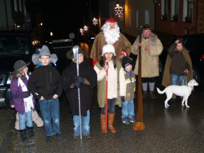 Foto zur Meldung: Markt und 24. Röslauer Dorfweihnacht 2011