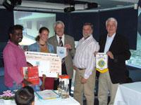 Vorschaubild zur Meldung: Gäste aus Beruwela zu Gast bei den Lions
