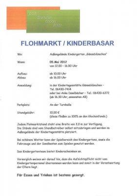 Foto zur Meldung: Flohmarkt/Kinderbasar in Oberneisen