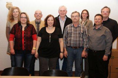 Foto zur Meldung: Rückblick auf ereignisreiches Jahr und Ehrung langjähriger Mitglieder