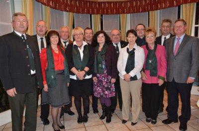 Foto zur Meldung: Jahreshauptversammlung mit Neuwahlen der Vorstandschaft