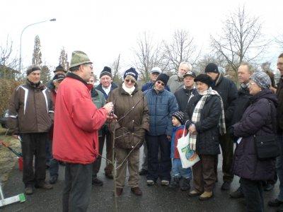 Foto zur Meldung: Obstbaum-Schnittkurs SGN-OGV-Kleingartenverein