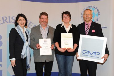 Foto zur Meldung: Gasthof Waldfrieden mit Gasto Management Pass zertifiziert