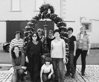 Foto zur Meldung: Osterbrunnen Kaltensondheim