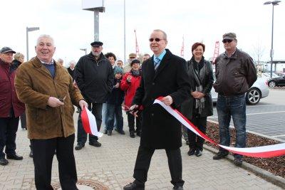 Bild der Meldung: Eröffnung Parkplätze S-Bahnhof Birkenstein