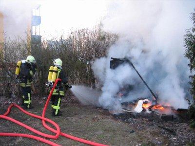 Foto zur Meldung: Falkenseer Feuerwehr am Osterwochenende zu mehreren Einsätzen gerufen