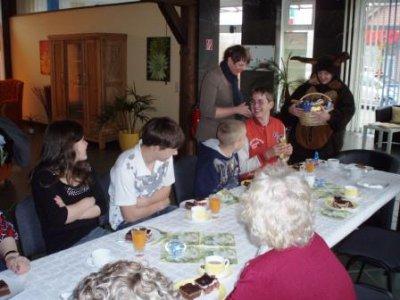 Foto zur Meldung: Ostern in der Tagespflege