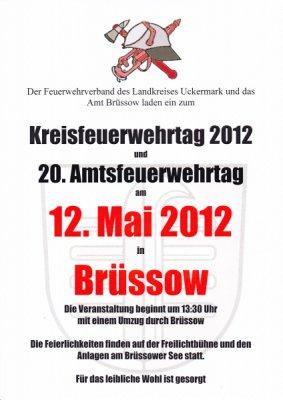 Vorschaubild zur Meldung: Kreisfeuerwehrtag 2012 und 20. Amtsfeuerwehrtag