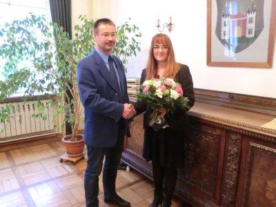 Foto zu Meldung: Erneute Wahl zur Amtsdirektorin - Katrin Lange