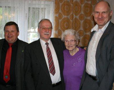Bild der Meldung: Margarete Voigt aus Waldesruh feierte ihren 101. Geburtstag