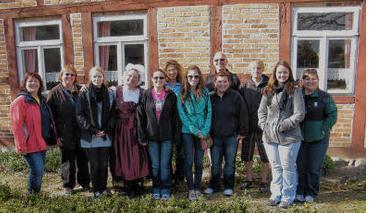 Foto zur Meldung: Austauschschüler aus Übersee bei Pingels zu Besuch