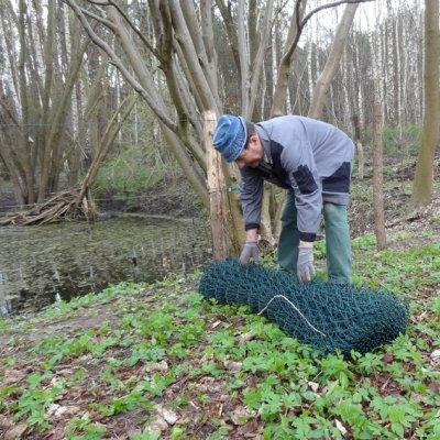 Foto zu Meldung: Am Teich auf Nummer sicher gegangen