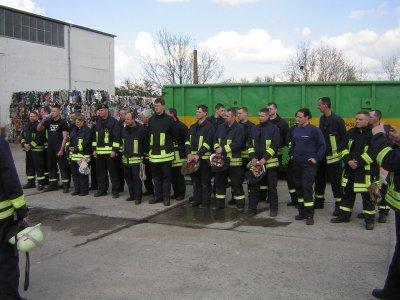 Foto zu Meldung: Ganztagsausbildung der Gemeindefeuerwehren