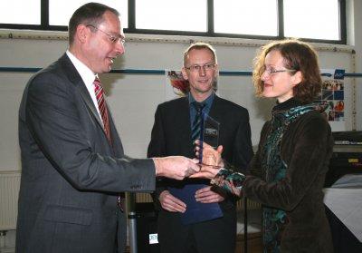 Kooperationspreis des Fördervereins der Hochschule Lausitz für die Attomol GmbH