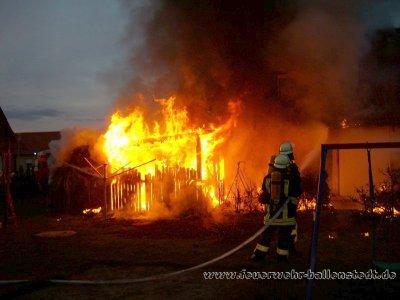 Foto zu Meldung: Großalarm  im Ortsteil Meisdorf