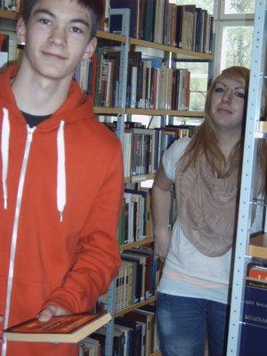 Foto zu Meldung: Zukunftstag Brandenburg - Bibliothek Meyenburg