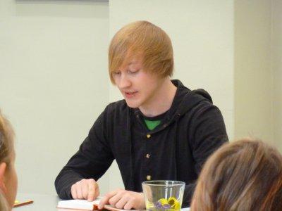 Foto zur Meldung: Zu den Aktionen zum Welttag des Buches 2012 in der Wusterhausener Bibliothek