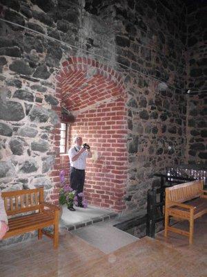 Vorschaubild zur Meldung: Burgenexperte besucht  Klutturm