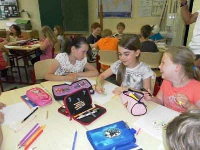 Foto zur Meldung: Lesenacht der Klasse 3