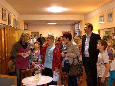 Foto zu Meldung: Eröffnungsveranstaltung der Bilderausstellung im Kulturhaus