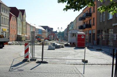 Foto zu Meldung: Ausbau Cottbuser Straße