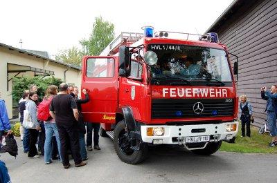 Foto zur Meldung: Die Arbeit der Kameraden hautnah erleben: Beliebter Tag der offenen Tür bei der Falkenseer Feuerwehr am Pfingstsonntag