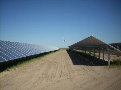 """Foto zu Meldung: Eröffnung """"Solarpark Rapshagen"""""""