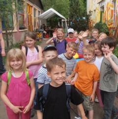 Foto zur Meldung: Die Märchenklassenfahrt der  1. Klasse