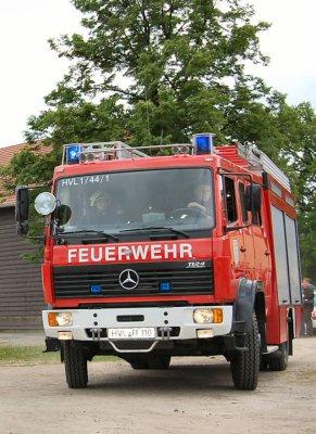 Foto zur Meldung: Brand durch Pyrotechnik verursacht? - Polizeiliche Ermittlungen laufen