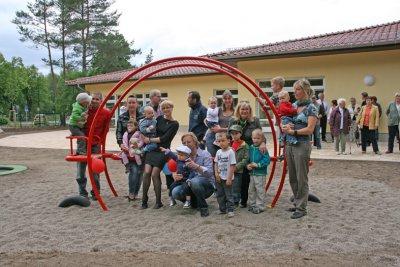 Foto zur Meldung: Am Kindertag Kitaeröffnung in Stolzenhagen