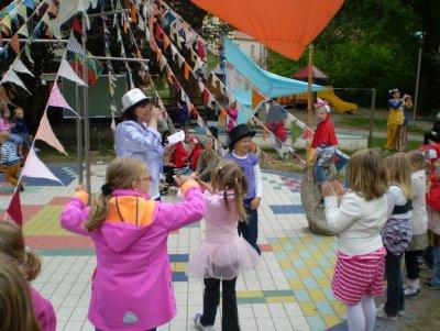Foto zur Meldung: Zirkusfest am Kindertag