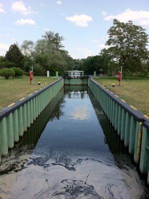 Vorschaubild zur Meldung: Große Schleuse in Beeskow wird im Herbst und Winter umfassend saniert