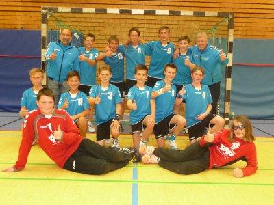 Foto zur Meldung: Wir haben es geschafft - Männliche Jugend C spielt in der SH-Liga