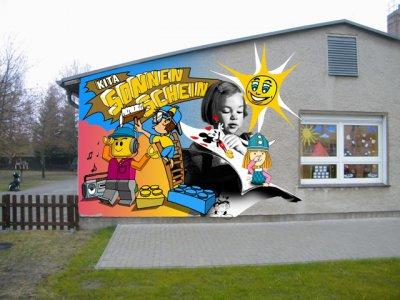 Vorschaubild zur Meldung: 25 Jahre Kita Sonnenschein in Hennickendorf