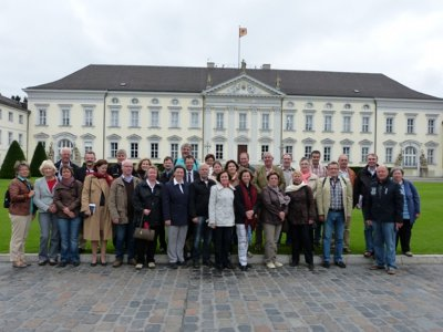 Foto zur Meldung: Bürgermeisterinnen und Bürgermeister des Heidekreises besuchten Berlin