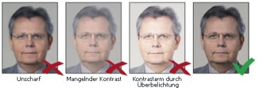 Foto zur Meldung: Wie mache ich ein biometrisches Passfoto