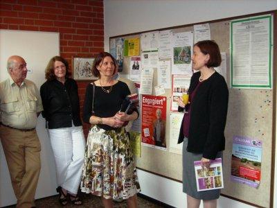 Foto zur Meldung: Ausstellung Rita Dahlem