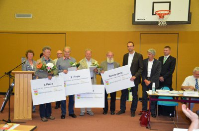 Gewinner des Energiepreises 2012 prämiert