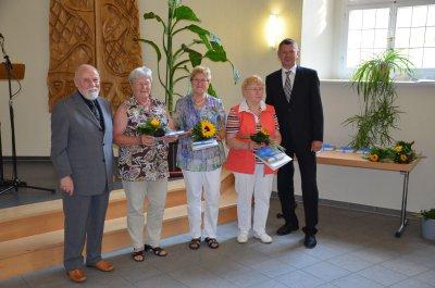 Aktive Seniorinnen und Senioren geehrt