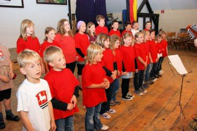 Foto zur Meldung: Sommerkonzert ein musikalischer Rückblick auf den  Besuch in Frankreich