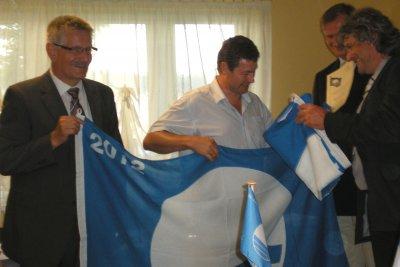 Blaue Flagge für den Großkoschener Seestrand