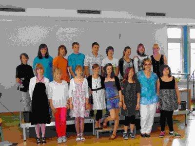 Foto zu Meldung: Die Klasse 6b verabschiedet sich!
