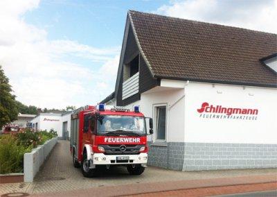 Foto zur Meldung: Neues Löschgruppenfahrzeug LF 10/6 für Werchow