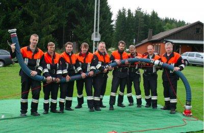 Foto zur Meldung: Feuerwehr Fuhrmannsreuth am Samstag bei Deutscher Feuerwehr Meisterschaft