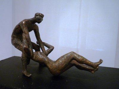 Bronzeplastik für die Kunstsammlung Lausitz