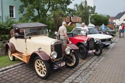 Foto zur Meldung: 8. Hirschfelder Oldtimertreffen