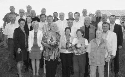 Foto zur Meldung: Ehrung für für 40 Jahre Vereinstreue
