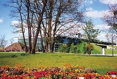 Foto zur Meldung: Sprint-Asse in der Biosphäre Potsdam